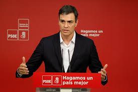 """PSOE: Sánchez: """"Corrupción es que te regalen un máster y pagar en 'b' la  sede de tu partido""""   Público"""