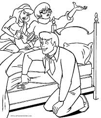Scooby Doo Coloring Pages Halloween Download This Coloring Page