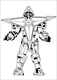 Power Rangers Coloring Pages Printable Power Rangers Color Pages