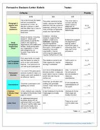 persuasive writing rubric for essays or letters by love and let lit persuasive writing rubric for essays or letters