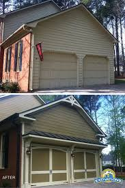 Best Before And After Exterior Makeovers Images On Pinterest - Exterior garage door