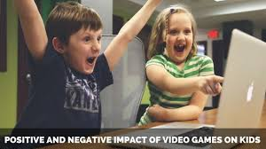 essay on positive and negative impact of video games on kids essay on positive and negative impact of video games on kids