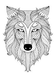Adult Coloring Pages Dog 1 Adult