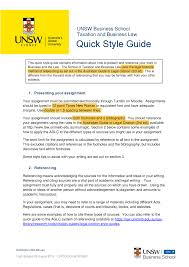 Tabl 1710 Quick Style Guide 2019 Tabl1710 Business And The Law