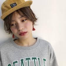 Un Ami 表参道 増永剛大カジュアル外ハネショートボブ Un Ami