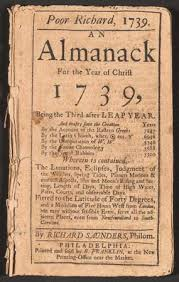 benjamin franklin biography inventions facts com title page for poor richard s almanac for 1739 written printed and by