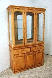 antique oak china cabinet curved glass antique curio cabinet art curved glass contemporary for