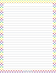 Lined Stationery Paper Unique Printable Lined Stationery Template Stationary With Lines Writing