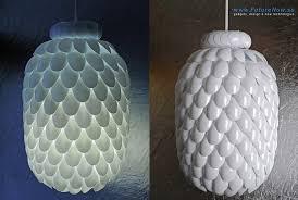 plastic spoon diy lamp make your own light fittings