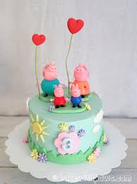 Peppa Pig Birthday Cake Tips For Easy Birthday Cake Recipes For