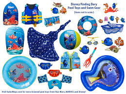 Finding nemo pool toys