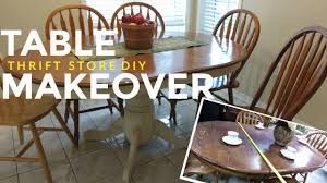 Kitchen Dining Table How To Refinish A Kitchen Dining Table Vintage Shabby Chic