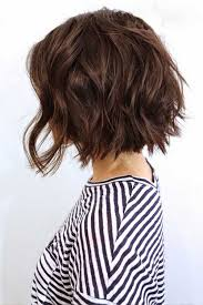Hairstyles For Thick Wavy Hair 80 Awesome 24 Bob Hairstyles For Thick Wavy Hair Pinterest Wavy Hair Bob