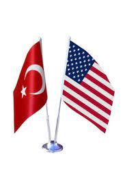 Vatan Bayrak Masa Üstü Abd Amerika Bayrağı Türk Bayrağı Ikili Krom Direk  Usa Fiyatı, Yorumları - TRENDYOL