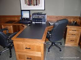 office desks for two. two person office desk home furniture ideas with 2 modern desks for v