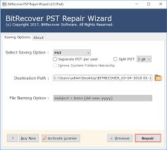 Pst Repair Tool Fix Corrupt Pst File Thru Outlook Pst