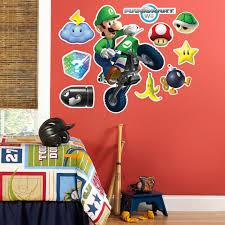 home décor super mario 3d wall decal