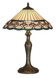 aster tiffany handmade glass table lamp uk