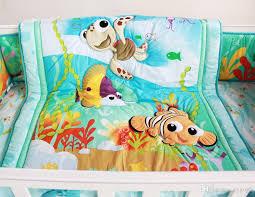 fish ocean baby bedding set cot crib for girls boys