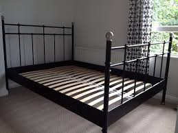 Ikea Metal Bed Frame Black