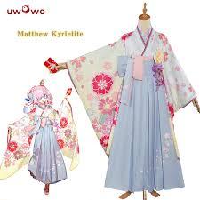 UWOWO <b>Matthew</b> Kyrielite Cosplay New Year <b>Kimono</b> Ver. <b>Fate</b> ...