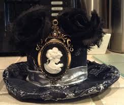 diy the crafting table gothic mini top hat