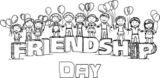 Small Picture Happy Friendship Day Images For My Beautiful Friends Coloring Page