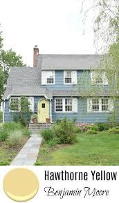 exterior paint door color hawthorne yellow benjamin moore