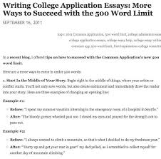 Application Essay Examples 500 Word College Essay Examples Writings And Essays Corner