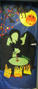 classroom door decorations for halloween. Two Simple Door Ideas Classroom Decorations For Halloween