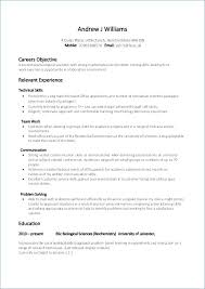 Relevant Experience Resume Simple Relevant Experience Resume Sample Star Method Examples Oliviajaneco