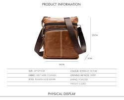 <b>CARANFIER</b> Mens Suitcases Travel Bag <b>Genuine</b> Cowhide <b>Leather</b> ...