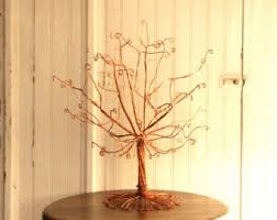 Large Jewelry Tree Display Stand Copper Earring Tree Stand Wire Display Jewelry SMALL 68