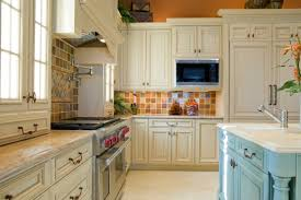 Plain Painting Oak Kitchen Cabinets White Refinish Inside Inspiration