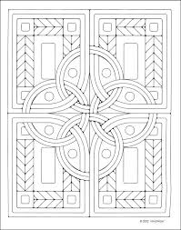 Small Picture Celtic Mosaics Coloring Book Additional photo inside page