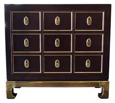 Asian Dresser uncategorized mastercraft leather and brass 3drawer asian 6712 by guidejewelry.us
