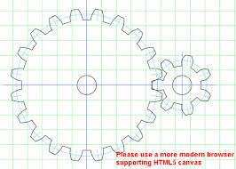 Gear Pattern Gorgeous Gear Template Generator