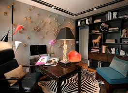 view in gallery eclectic and artistic home office in new york