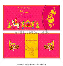 vector illustration indian wedding invitation card stock vector Vector Hindu Wedding Cards vector illustration of indian wedding invitation card hindu wedding cards vector free download