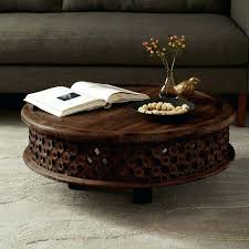 japanese hand carved coffee table wood west elm o