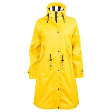 jacson yellow waterproof trench coat pippi
