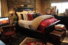 bed headboard reading lights bedroom southwestern with rustic wood wood bedroom headboard lighting