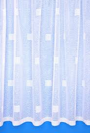 matrix white net curtains
