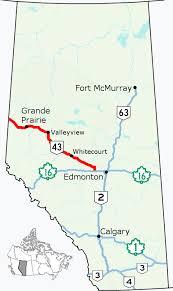 Alberta Highway 43 Wikipedia