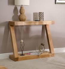 oak hall console table. Z Shape Solid Oak Hall/ Console Table Hall A