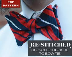 Bow Tie Sewing Pattern Magnificent Decoration