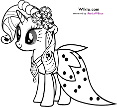 Small Picture little pony friendship is magic coloring pages to print