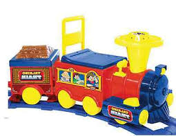 tank engine foot kids ride on toy train talking engine sounds battery operated  foot tr