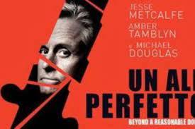 Un alibi perfetto - la locandina italiana ed il poster spagnolo del nuovo  thriller con Michael Douglas - Cineblog