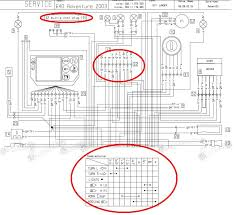 lc4 640 r lights page 2 adventure rider the high beam switch is inside the combination switch which is not directly shown on the main wiring diagram there is an additional diagram about the